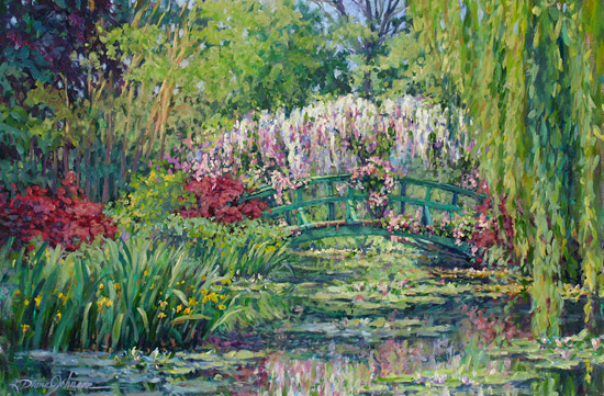 Monet Giverny Paintings